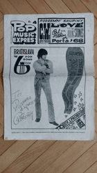 Pop Music Expres, č. 4, rok 1968
